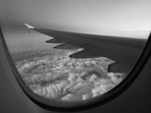 Jet lag při cestě letadlem