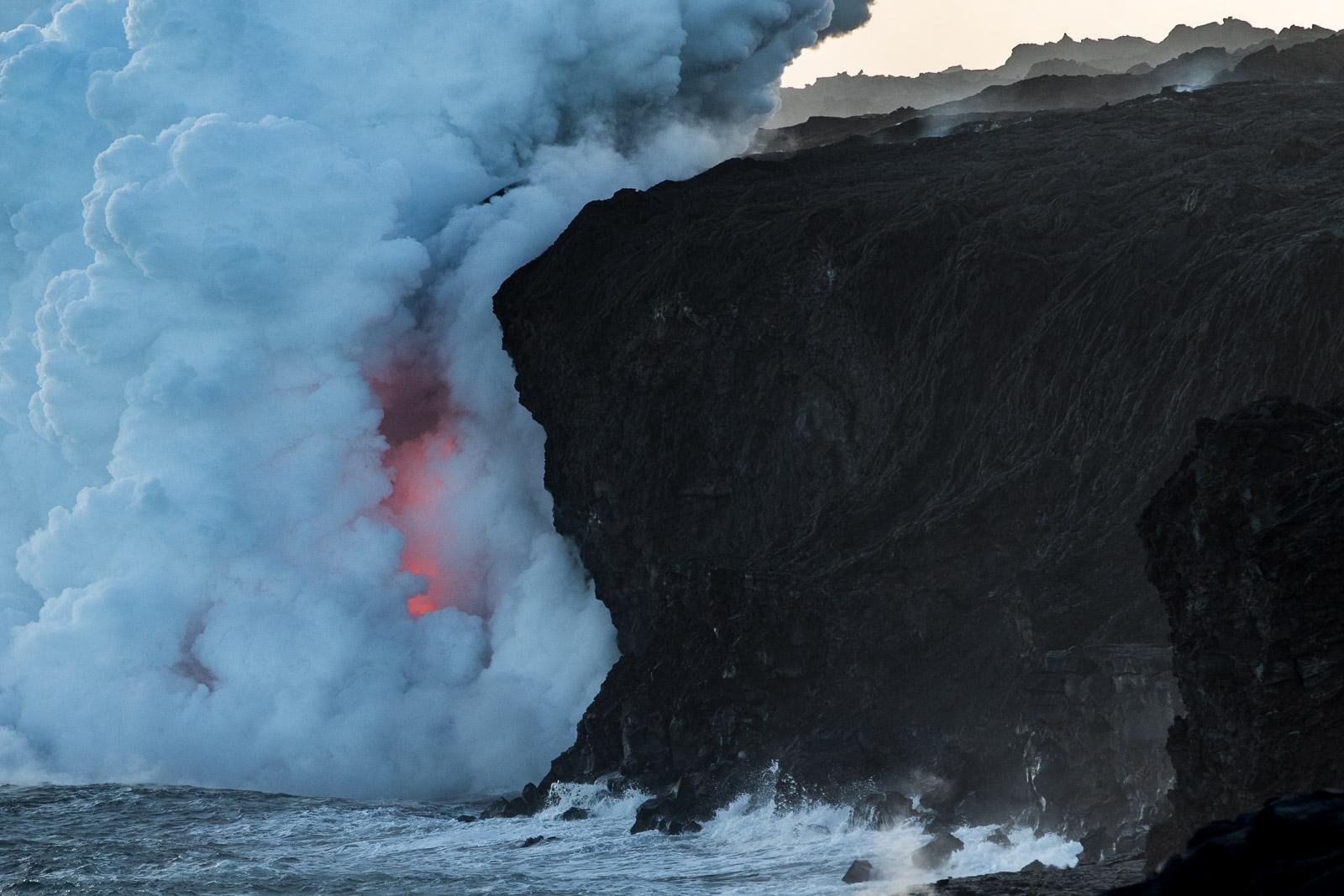 Lava flow, Havaj